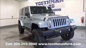 jeep arctic blue used jeep wrangler sahara artic for sale morgantown wv toothman