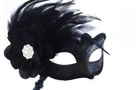 masquerade masks with feathers black phantom masquerade mask with stick black masquerade