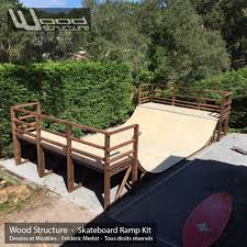 mini rampe skate 3 0 design wood structure