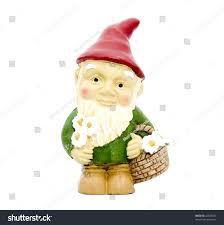 Lawn Gnome by Little Garden Gnome Stock Photo 42648637 Shutterstock