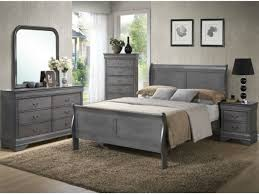 lifestyle 4934 louis philippe gray 5 pc king bedroom set