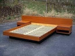 Diy Platform Bed Plans How To Build A Platform Bed Frame Platform Bed And Old Door