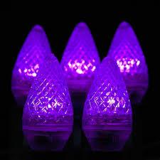 C7 Led Light Bulbs by Purple Led Christmas Lights Novelty Lights Inc