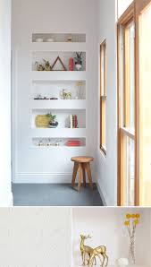 Living Room Shelves by Best 20 Recessed Shelves Ideas On Pinterest Minimalist Library