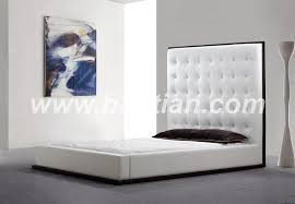 baotian furniture sale leather bed frame headboard for bed