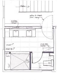 Bathroom Addition Floor Plans by Master Bathroom Layout Plan With Bathtub And Walk In Shower If I