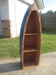 Canoe Bookcase Best Woodworking Plans Book Build Boat Shelf Wooden Plans