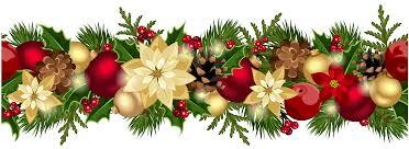 christmas garland border with lights u2013 happy holidays