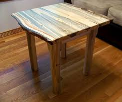Pine End Tables Beetle Kill Pine End Table Live Edge By Rockyblue Lumberjocks