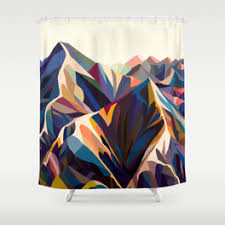 Artistic Shower Curtains Shower Curtains Society6
