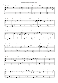 Titanium Piano Cover Sheet Music free piano sheet music one call away charlie puth pdf i u0027m only