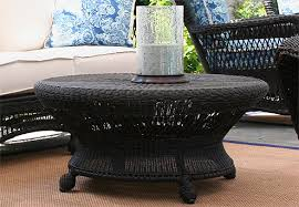 rattan side table outdoor creative of round wicker side table large round wicker coffee table