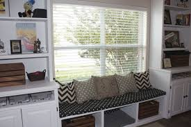 Window Bench Seat With Storage Under Window Storage Bench Cushions Comfort Under Window Storage