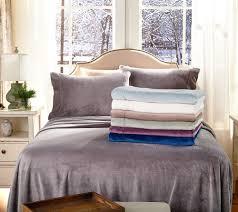 berkshire blanket velvet soft full cozy sheet set page 1 u2014 qvc com