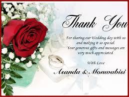 thank u card wedding invites samples file pinterest thank