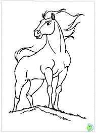 spirit horse coloring pages murderthestout