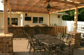 Pergola Ceiling Fan by Rooms Kitchens Landscape Design Outdoor Living