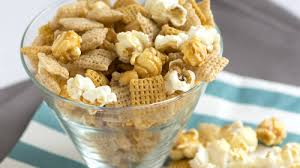 sweet and salty popcorn chex mix recipe bettycrocker