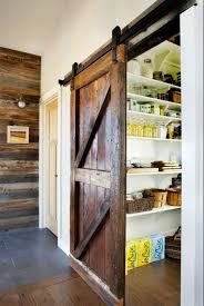sliding barn door kitchen pantry barn decorations