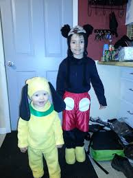 Halloween Costumes Mickey Minnie Mouse 25 Pluto Costume Ideas Disney Character