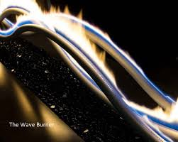 Gas Fire Pit Burner by The Wave Gas Fire Pit