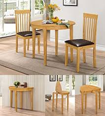 Kitchen Table And 2 Chairs by Hgg Dining Table Set With 2 Chairs Rubberwood Furniture Small
