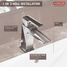 delta faucet 568lf mpu ara polished chrome one handle bathroom