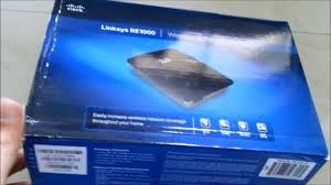 linksys re1000 youtube