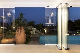 all glass door sunflex slide and turn glass system by modernfoldstyles