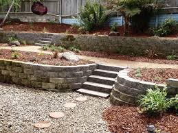 Sloping Backyard Landscaping Ideas Best 25 Sloped Backyard Ideas On Pinterest Sloping Backyard