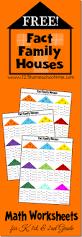 free math fact family worksheets free homeschool deals