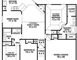 house plan single story with 3bedrooms house floor plans