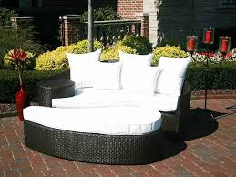 Round Stone Patio Table by Nice Resin Wicker Patio Furniture Set Outdoor Rattan Sectional