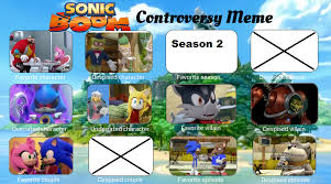 Sonic Boom Meme - sonic boom controversy meme blank by sonicriders22 on deviantart