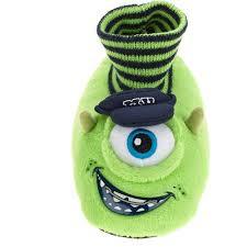 disney monsters mike boy u0027s toddler sock slipper walmart
