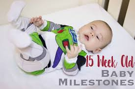 My Baby Is Chewing On His Crib by 15 Week Old Baby Milestones My Two Tims