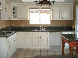 antiqued kitchen cabinets distressed black kitchen cabinets