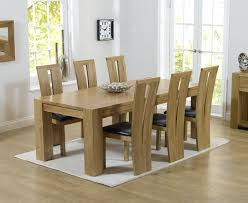 solid oak table with 6 chairs dining tables with 6 chairs chunky solid oak dining table and 6