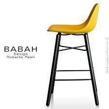 tabouret cuisine design tabouret de cuisine design babah wood 65 pieds bois peint assise