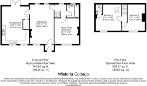 Wisteria Floor Plan by 3 Bedroom Cottage For Sale In Lebberston Near Scarborough Yo11 Yo11