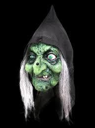 Scary Witch Halloween Costumes Halloween Masks Vervollständiegen Solemn Interior