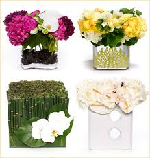The Flower Vase Modern Flower Arrangements Horsetail With White Orchids Can Also