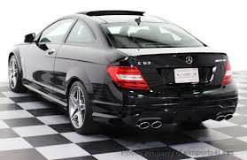 used mercedes c63 amg 2014 used mercedes certified c63 amg coupe distronic