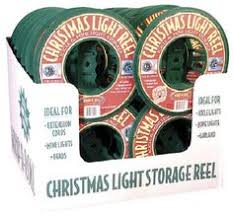 wrap n roll christmas light storage homz products 4 reel 100 light string light storage container