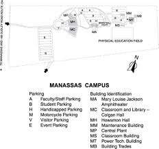 Virginia Tech Campus Map by Northern Virginia Community College Alexandria Campus Map