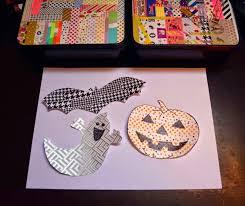 Halloween Washi Tape by Diy Decoracion De Halloween Con Washi Tape Handbox Craft Lovers