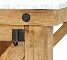 reclaimed barn wood kitchen island with wooden top reclaimed wood marble top kitchen island pottery barn wood kitchen