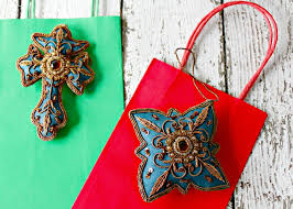 beaded christmas ornaments novica blog
