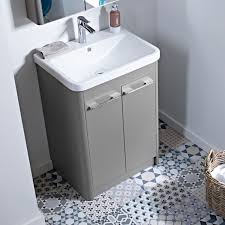 600 Vanity Unit 60cm Stone Grey Vanity Unit