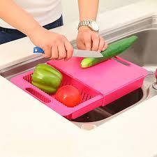 tablette pour cuisine planche à découper alimentaire constainer stockage cut pour cuisine